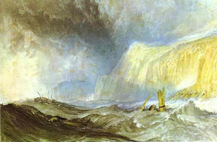 William Turner. Shipwreck off Hastings.