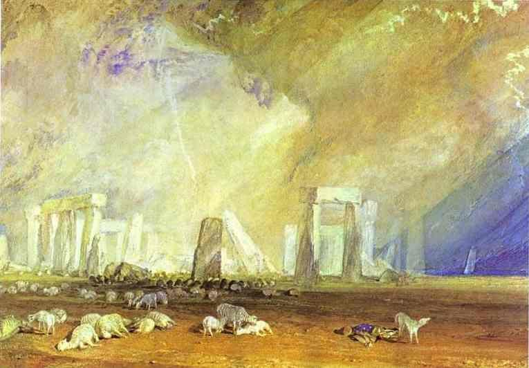William Turner. Stonehenge.