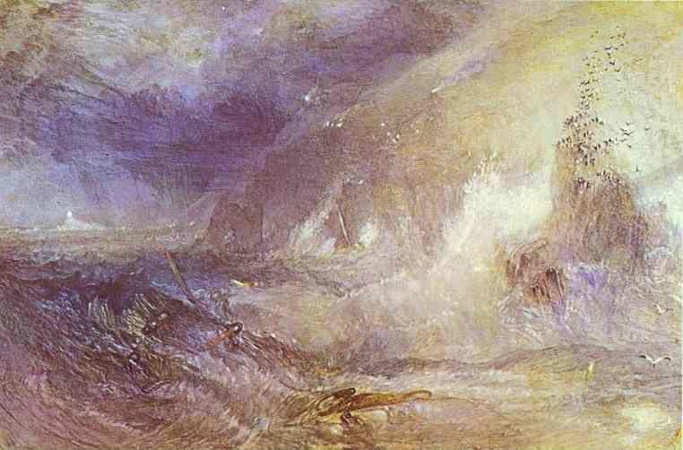 William Turner. Longships Lighthouse, Lands End.