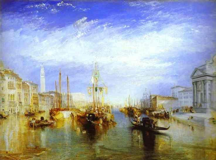 William Turner. The Grand Canal, Venice.