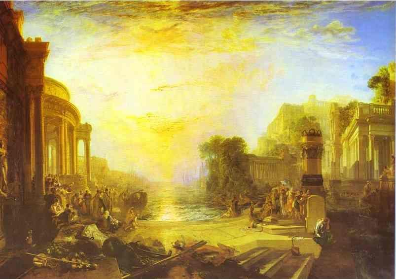 William Turner. The Decline of the Carthaginian Empire.