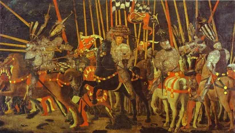 Paolo Uccello. The Battle of San Romano.