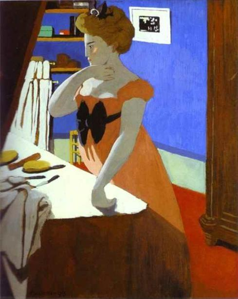 Félix Vallotton. Misia at Her Dressing Table/Misia à sa coiffeuse.