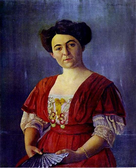 Félix Vallotton. Portrait of Mme Georges Haasen.