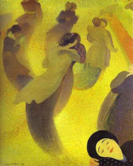 Félix Vallotton. The Waltz/La Valse.