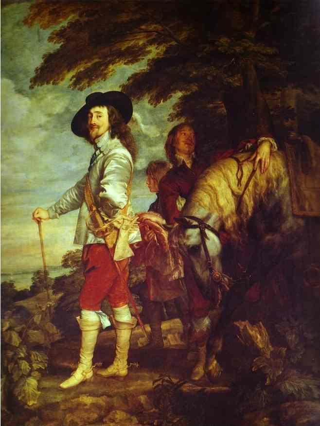 Anthony van Dyck. Charles I, King of England, at the Hunt.