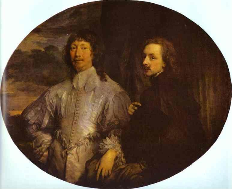 Anthony van Dyck. Self-Portrait with Sir Endymion Porter.