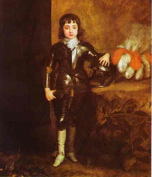 Anthony van Dyck. Prince of Wales, Future Charles II, King of England.