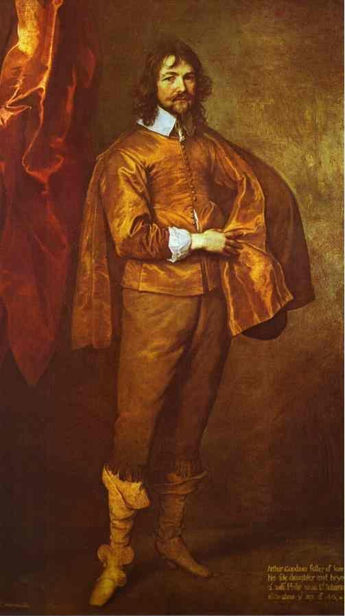 Anthony van Dyck. Arthur Goodwin.