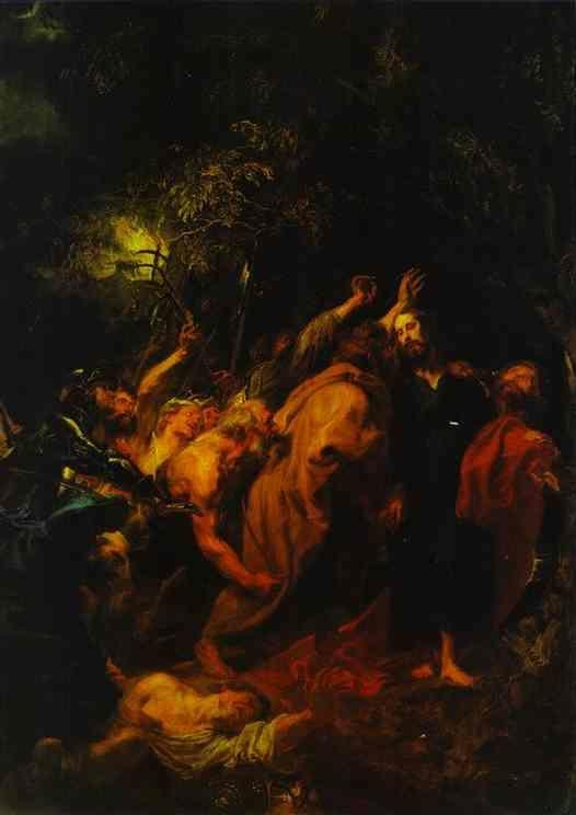 Anthony van Dyck. The Arrest of Christ.