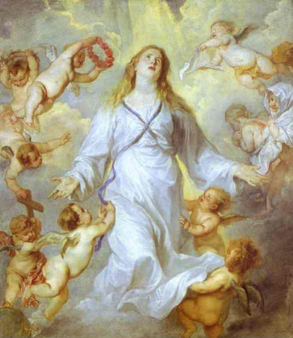 Anthony van Dyck. The Assumption of the Virgin.