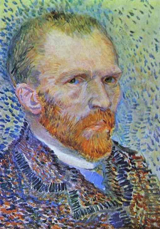 Vincent van Gogh. Self-Portrait.