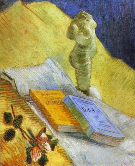 Vincent van Gogh. Still Life with a Statuette.