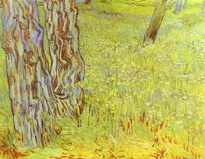 Vincent van Gogh. Park Conor with a Blooming Lawn.