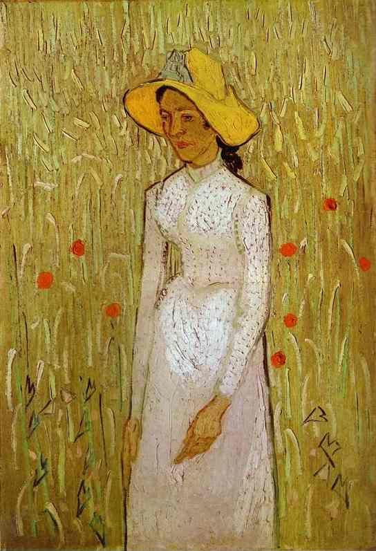 Vincent van Gogh. Girl in White.