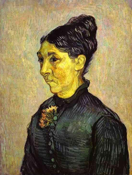 Vincent van Gogh. Portrait of Madam Trabuc (Portrait de madame Trabuc).