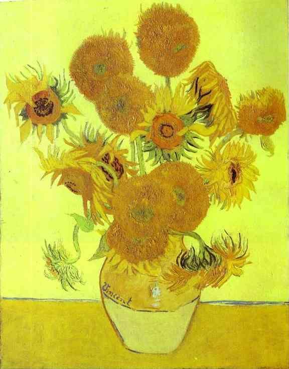 Vincent van Gogh. Sunflowers.
