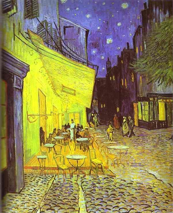 Vincent van Gogh. Café Terrace at Night.