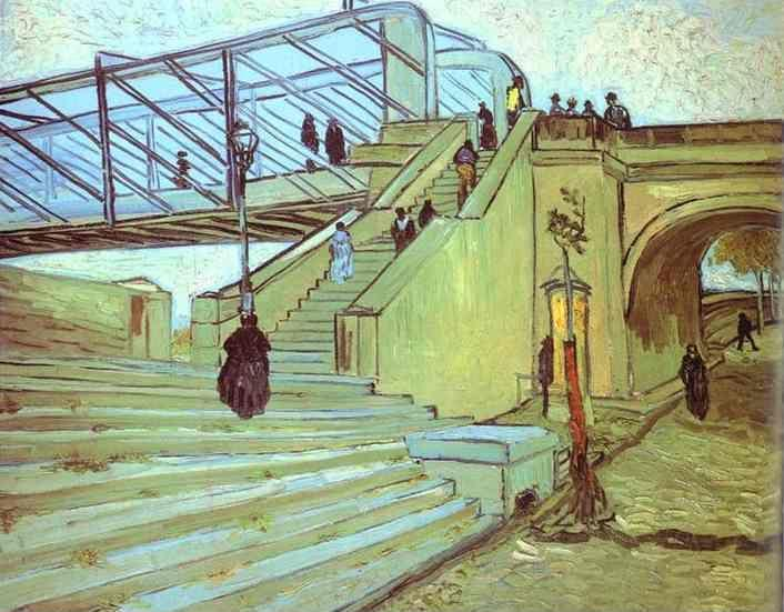 Vincent van Gogh. The Trinquetaille Bridge. Arles.