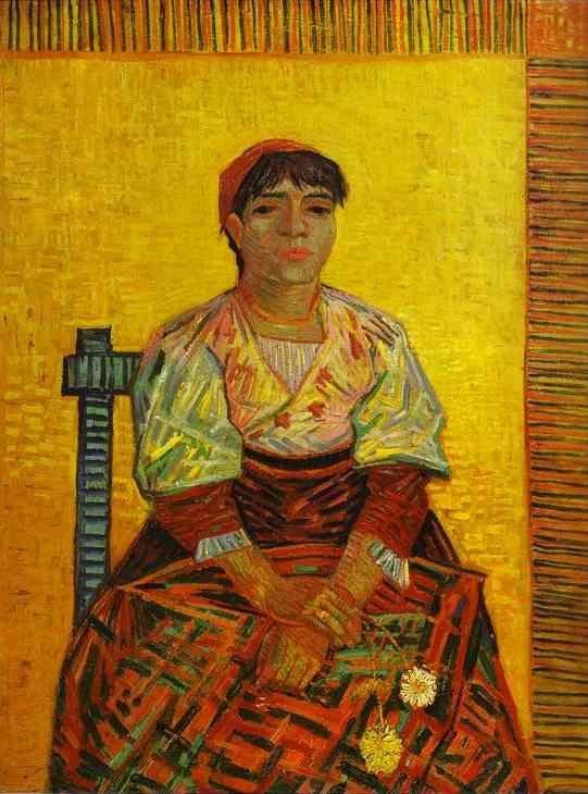 Vincent van Gogh. The Italian Woman.
