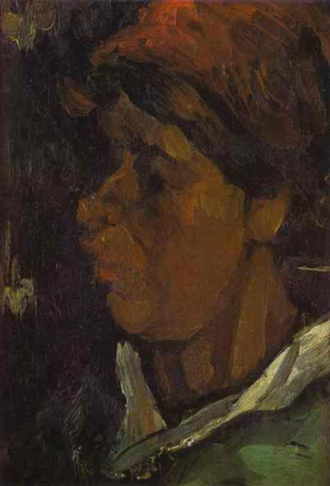 Vincent van Gogh. Head of a Dutch Peasant.