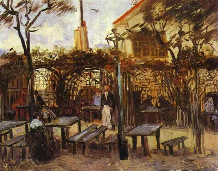 "Vincent van Gogh. Terrace of the Cafè ""La Guinguuette""."