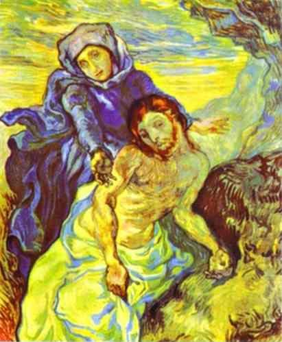 Vincent van Gogh. Pietà (After Delacroix).