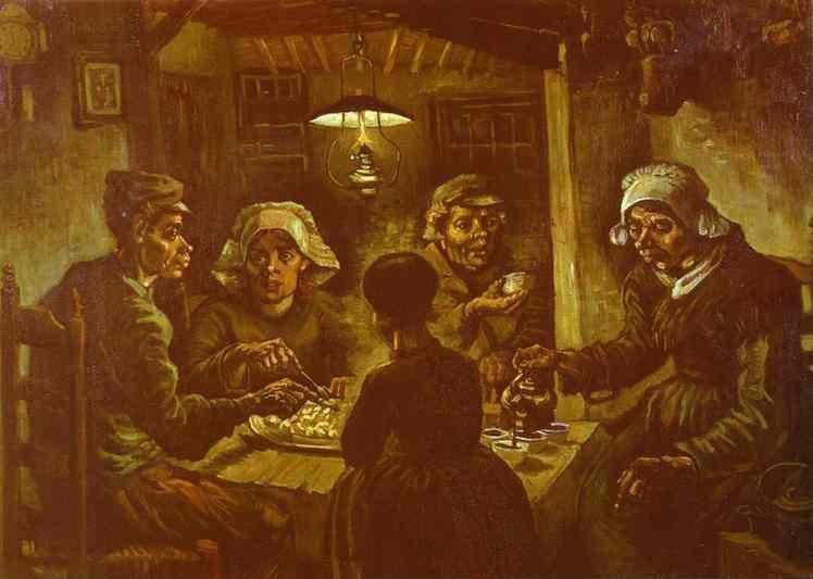 Vincent van Gogh. The Potato-Eaters.