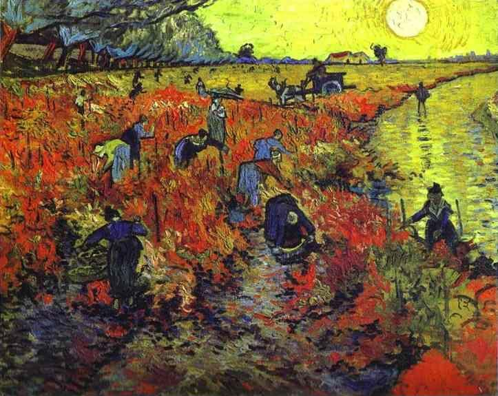 Vincent van Gogh. Red Vineyards of Arles.