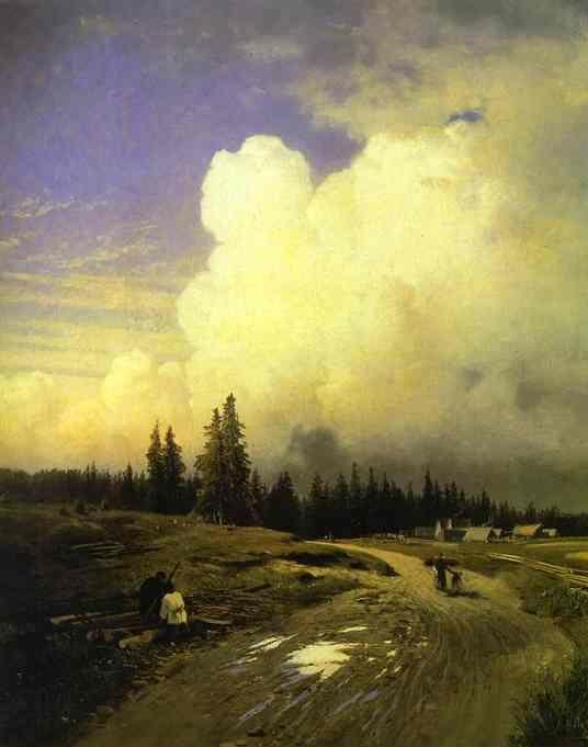 Feodor Vasilyev. After a Thunderstorm.