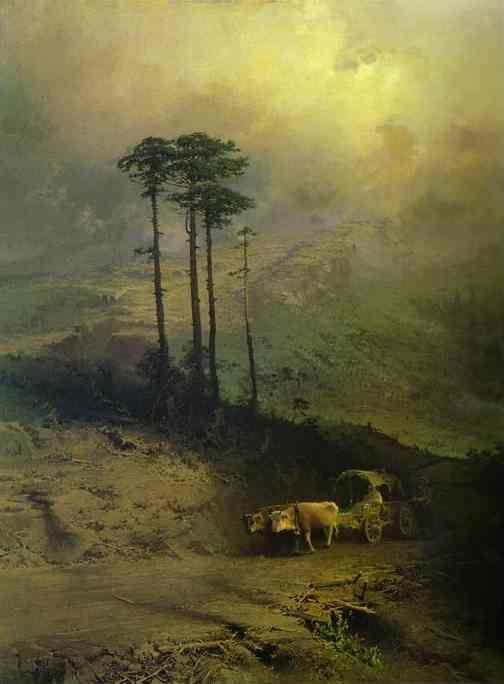 Feodor Vasilyev. In the Mountains of the Crimea.