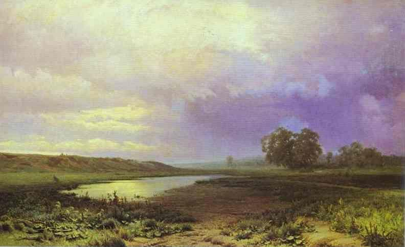 Feodor Vasilyev. Wet Meadow.
