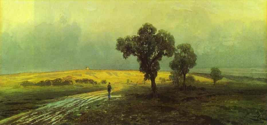 Feodor Vasilyev. After a Heavy Rain.