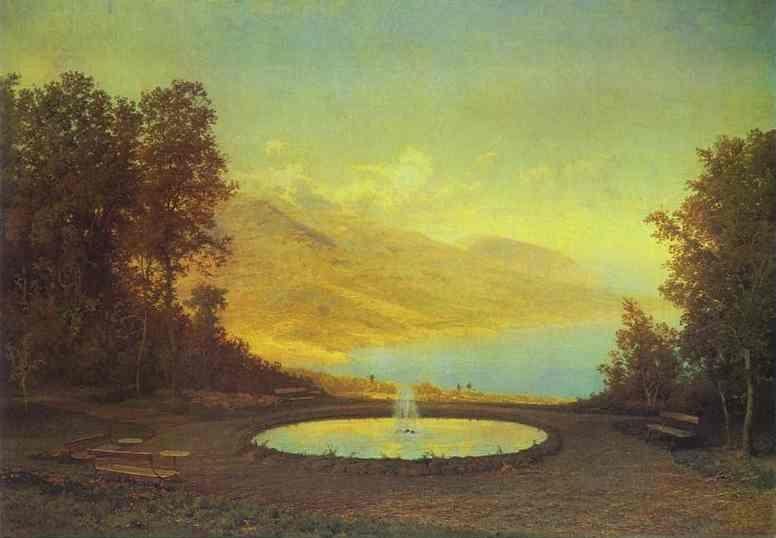Feodor Vasilyev. Eriklik: The Fountain.