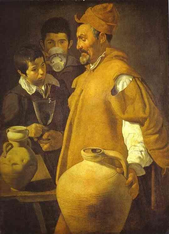 Diego Velázquez. The Waterseller in Seville.