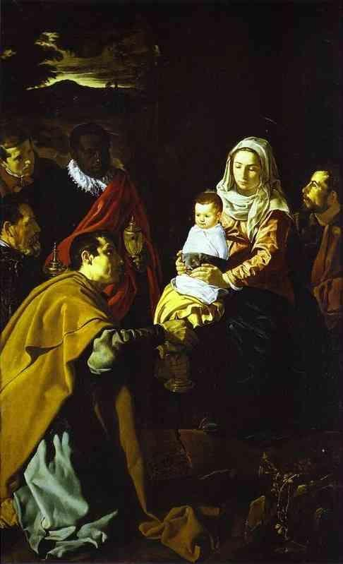 Diego Velázquez. The Adoration of the Magi.