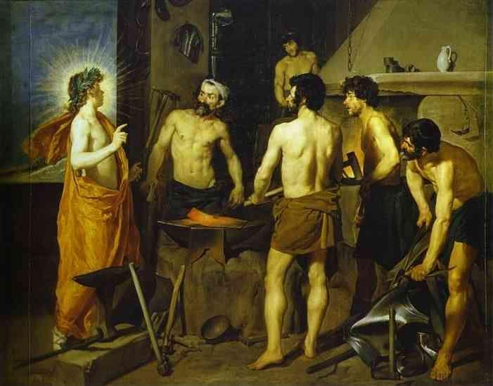 Diego Velázquez. The Forge of Vulcan.