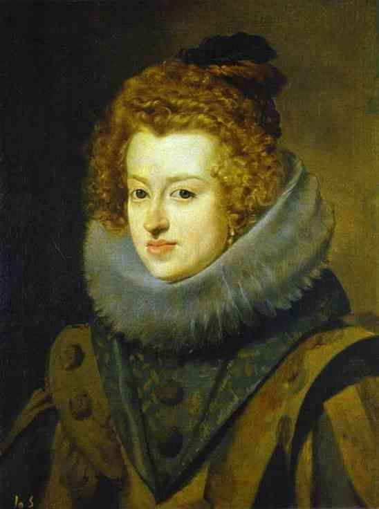 Diego Velázquez. Infanta Maria, Later Queen of Hungary.