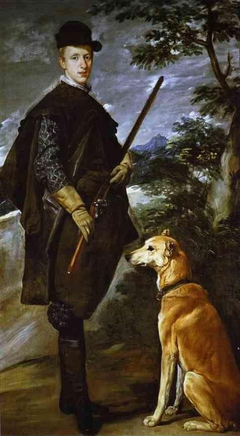 Diego Velázquez. The Cardinal Infante Don Fernando (Philip IV's Younger brother) as a Hunter.