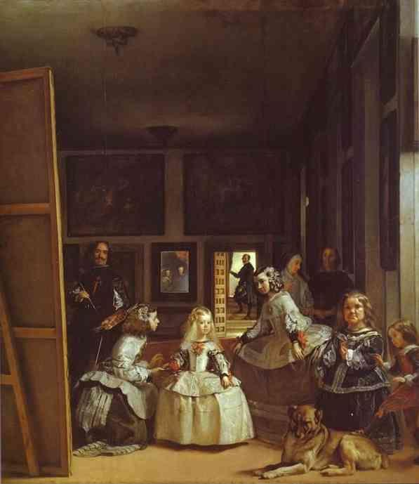 Diego Velázquez. Las Meninas (The Maids of Honor) or the Royal Family.