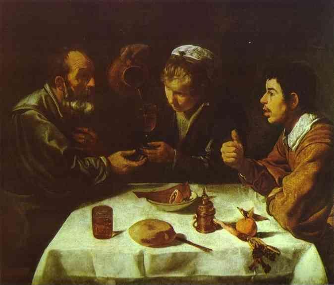 Diego Velázquez. Peasants' Dinner.