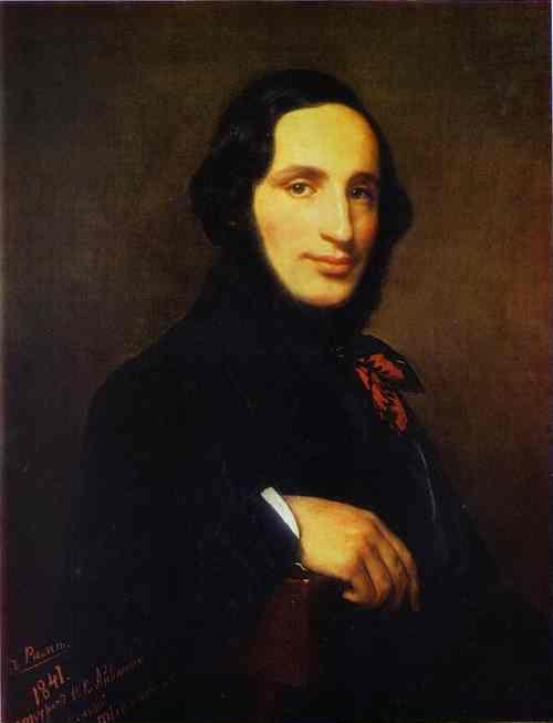 Alexey Tyranov. Portrait of the Artist Ivan Aivazovsky.