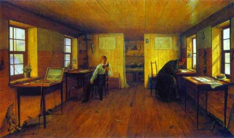 Alexey Tyranov. Studio of the Artists N. and G. Tchernetsovs.