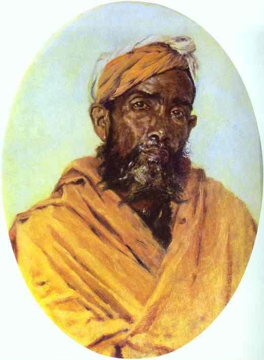 Vasily Vereshchagin. Moslem Servant.