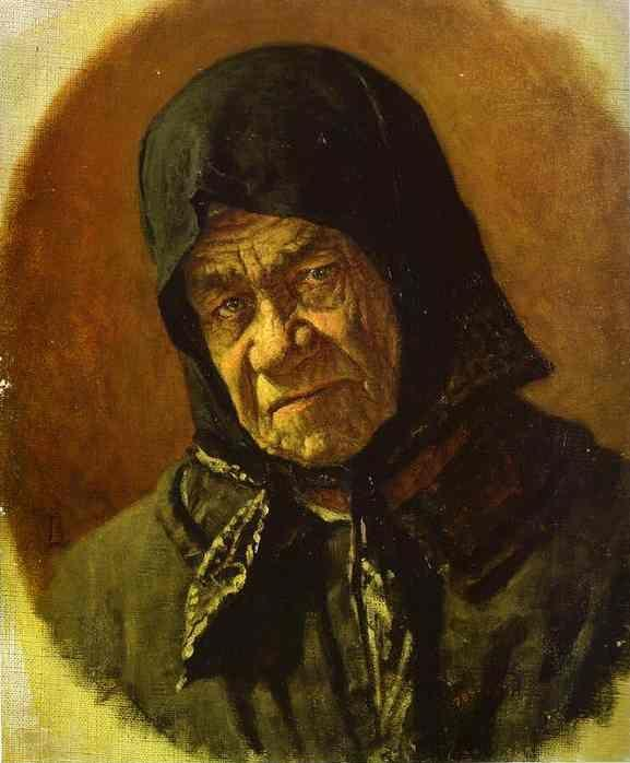 Vasily Vereshchagin. Beggar, Ninety Six Years Old.