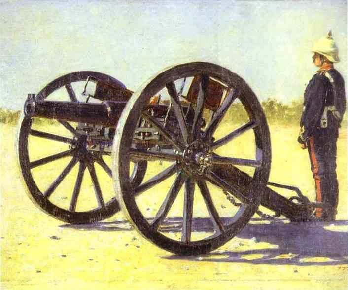 Vasily Vereshchagin. Cannon.