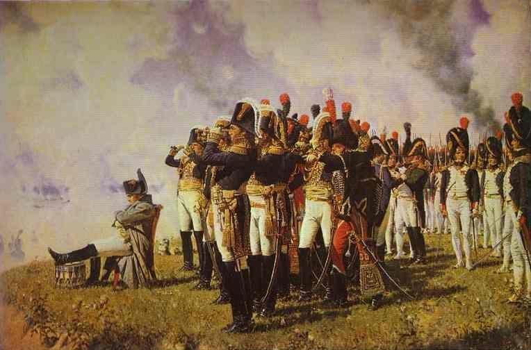 Vasily Vereshchagin. Napoleon I on the Borodino Hights.