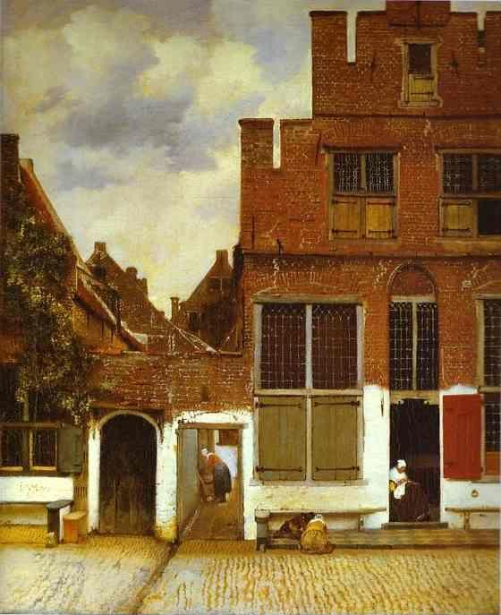 Jan Vermeer. Street in Delfi.