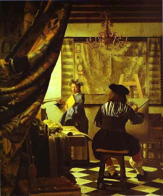 Jan Vermeer. The Art of Painting.