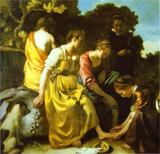 Jan Vermeer. Diana and Her Companions.
